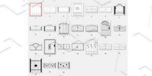 Catalogue of iron gates